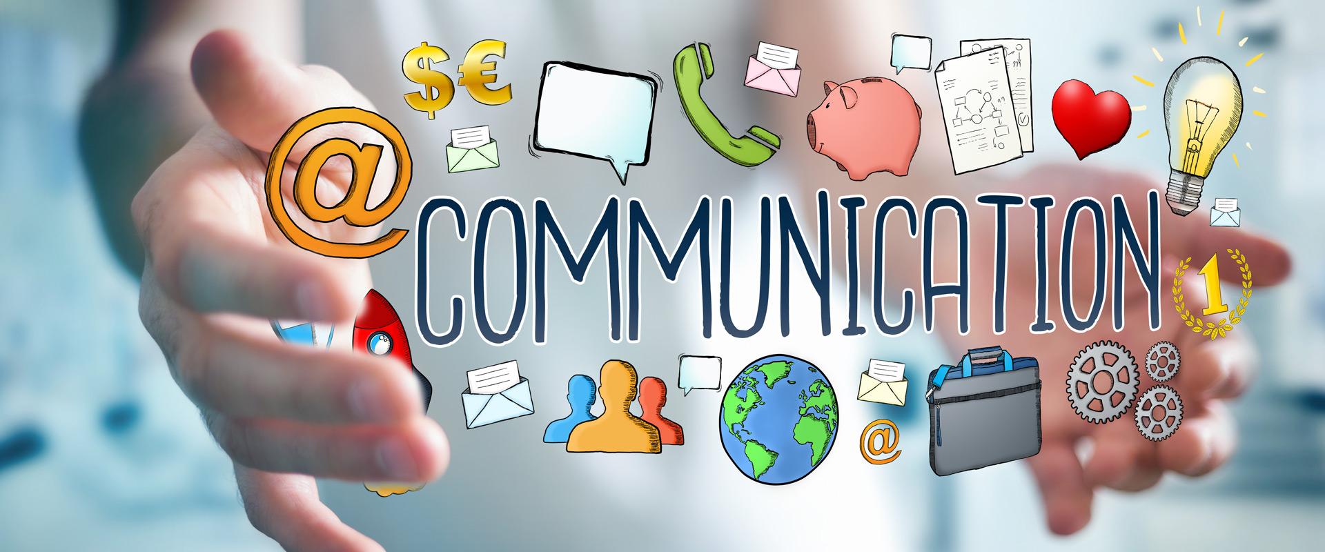 Kommunikation auf den Punkt